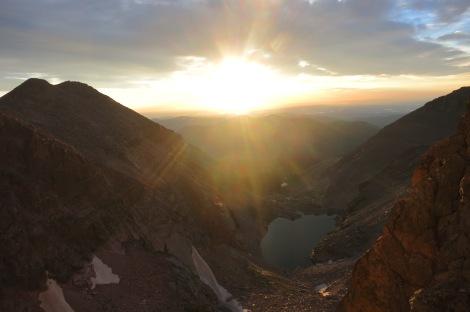Sunrise on the Diamond